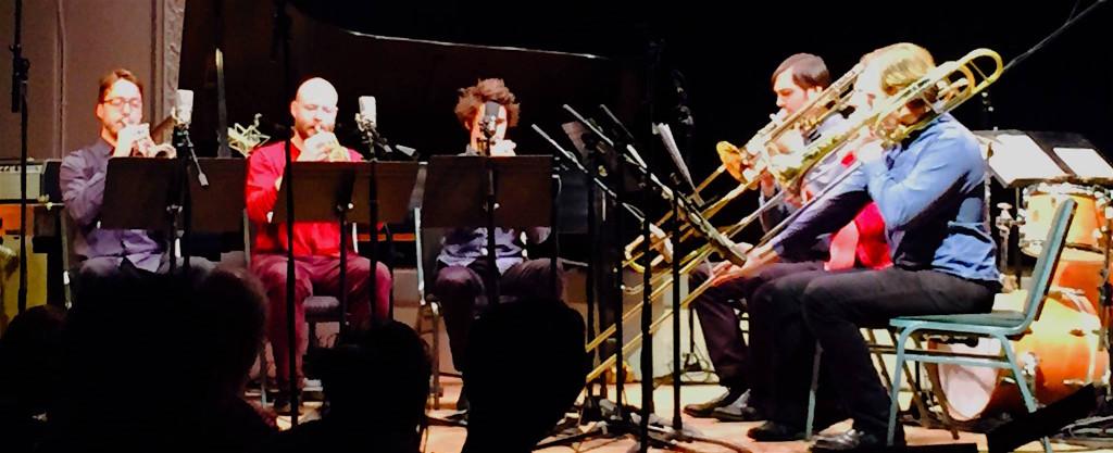 TILT Brass Sextet plays Coleman, 160225