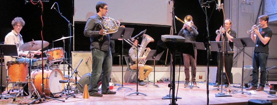 TILT Brass at 2012 New Music Bake Sale