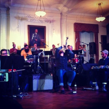 Seven Storey Mountain at 2014 Winter Jazz Fest (Photo by Dan Hirsch)