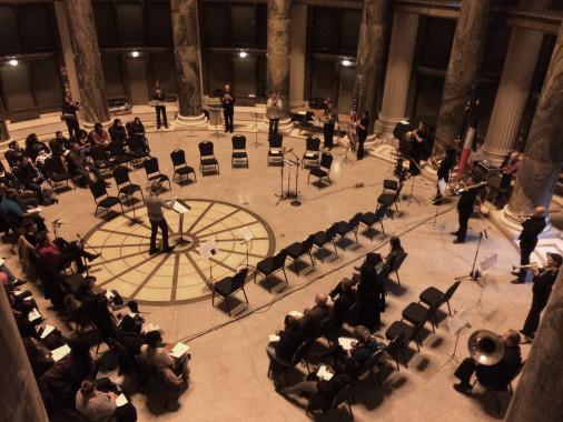 TILT Brass plays Herndon, 3/10/14