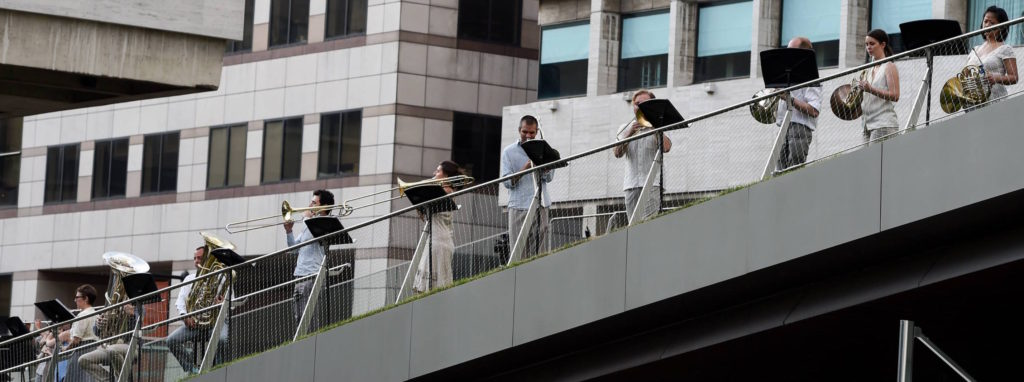 TILT Brass at Lincoln Center Out of Doors, July 2015